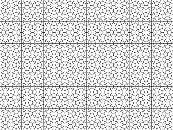 Download Free Seamless Of Mosaic Tile Pattern Vector Graphic By Asesidea for Cricut Explore, Silhouette and other cutting machines.