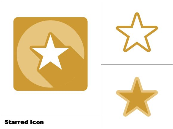 Download Free Starred Icon 3 Model Graphic By Novieart 99 Creative Fabrica for Cricut Explore, Silhouette and other cutting machines.