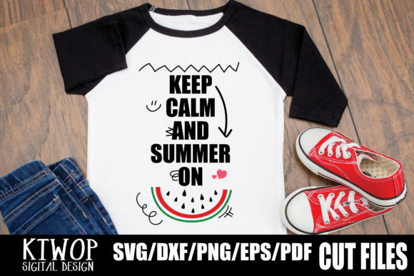 Print on Demand: Keep Calm and Summer on Graphic Crafts By KtwoP