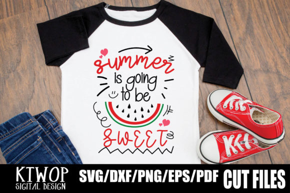 Print on Demand: Summer is Going to Be Sweet Graphic Crafts By KtwoP