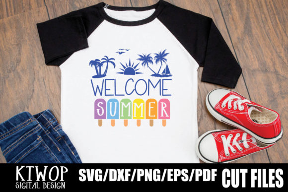 Print on Demand: Welcome Summer Graphic Crafts By KtwoP