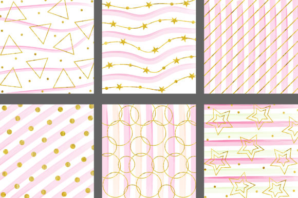 Download Free Sweet Gold Glitter Background Graphic By Pinkpearly Creative for Cricut Explore, Silhouette and other cutting machines.