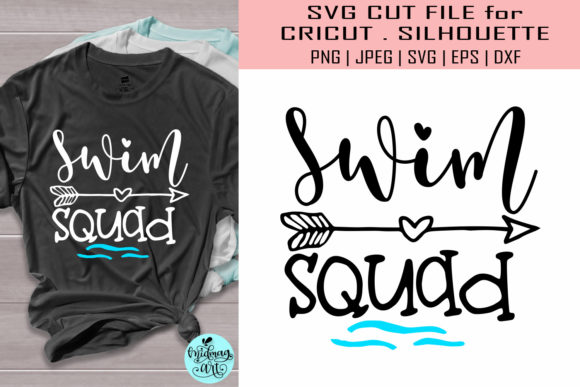 Download Free Swim Squad Svg Summer Svg Graphic By Midmagart Creative Fabrica for Cricut Explore, Silhouette and other cutting machines.
