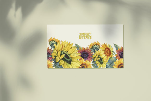 Watercolor Sunflowers Graphic Illustrations By NataliMyaStore - Image 8