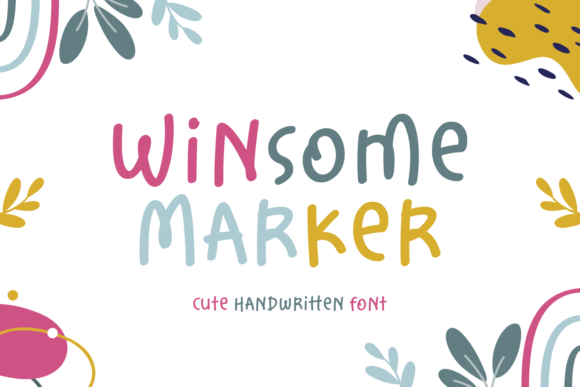Print on Demand: Winsome Marker Script & Handwritten Font By Situjuh