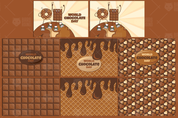 Download Free World Chocolate Day Set Graphic By Barsrsind Creative Fabrica SVG Cut Files