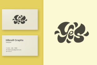 Print on Demand: Yes Word - Logo Graphic Logos By HibraR