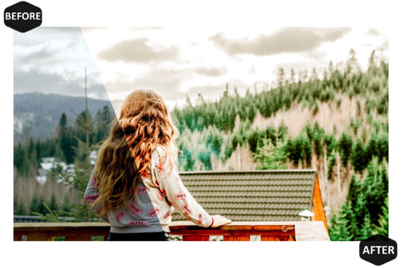 10 Amber Photoshop Actions Preset Graphic Preview