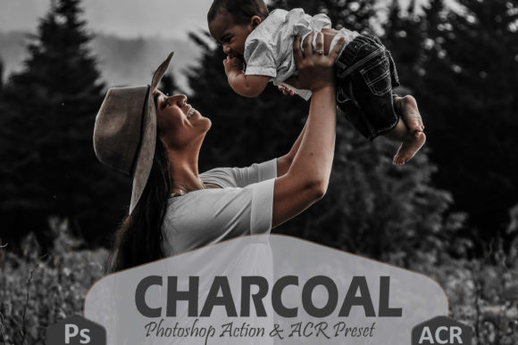 Download Free 10 Charcoal Photoshop Actions And Presets Graphic By Mattte for Cricut Explore, Silhouette and other cutting machines.