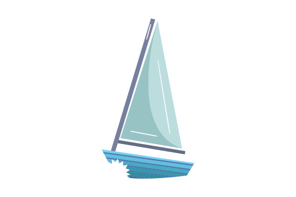Download Free Boat With Sharkbite Svg Cut File By Creative Fabrica Crafts for Cricut Explore, Silhouette and other cutting machines.