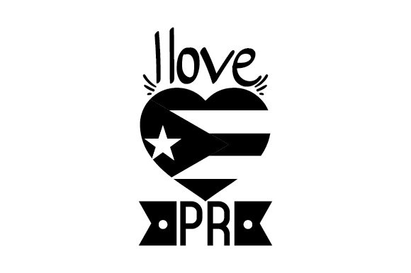 Download Free I Love Pr Svg Cut File By Creative Fabrica Crafts Creative Fabrica for Cricut Explore, Silhouette and other cutting machines.
