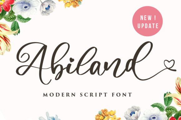 Print on Demand: Amiland Script & Handwritten Font By vultype