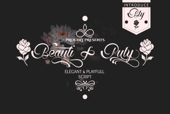 Download Free Beautifuly Font By Prast Art Creative Fabrica for Cricut Explore, Silhouette and other cutting machines.