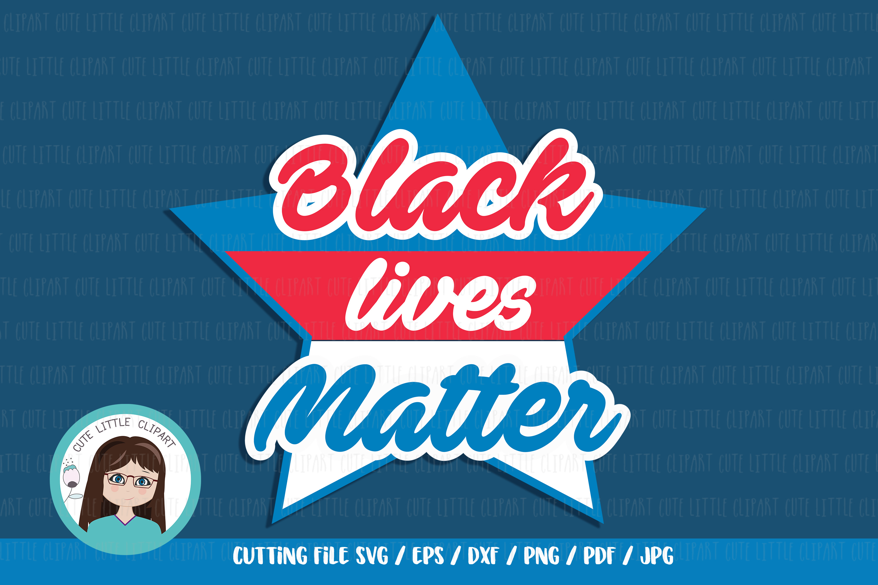 Download Free Black Lives Matter Graphic By Cutelittleclipart Creative Fabrica for Cricut Explore, Silhouette and other cutting machines.