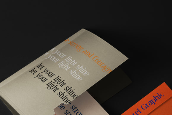 Print on Demand: Black Voice Serif Font By morelgraphic - Image 9