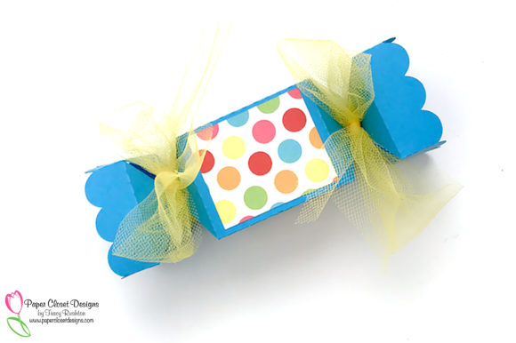Download Free Candy Popper Treat Box Graphic By Rushton Tracy Creative Fabrica for Cricut Explore, Silhouette and other cutting machines.