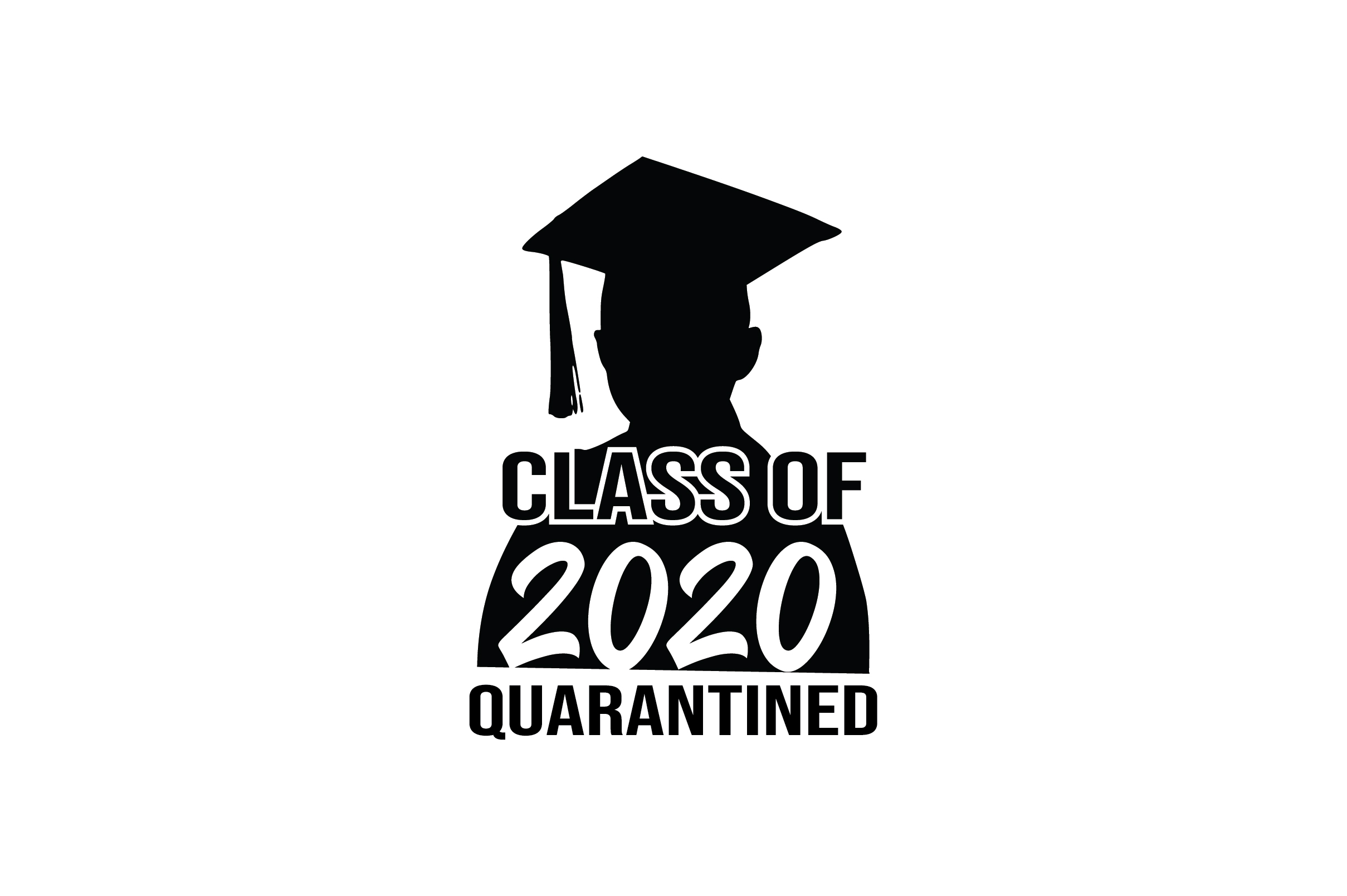 Download Free Class Of 2020 Quarantined Graphic By Fauzidea Creative Fabrica for Cricut Explore, Silhouette and other cutting machines.