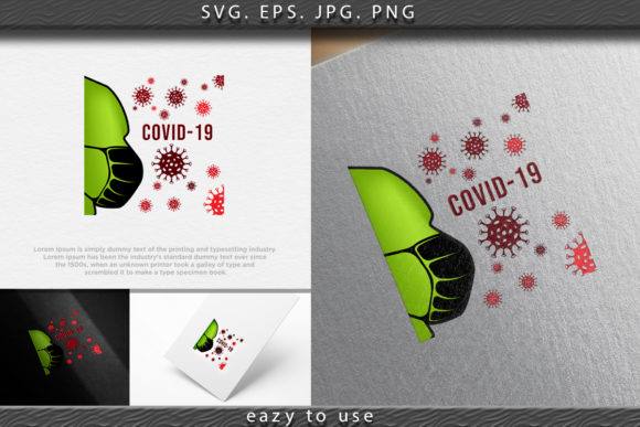 Print on Demand: Coronavirus Outbreak Safety Measures. Ma Graphic Icons By ojosujono96