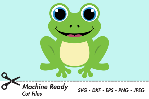 Download Free Cute Boy Frog Graphic By Captaincreative Creative Fabrica for Cricut Explore, Silhouette and other cutting machines.