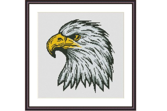 Eagle Cross Stitch Pattern Cute Animals Graphic Cross Stitch Patterns By e6702