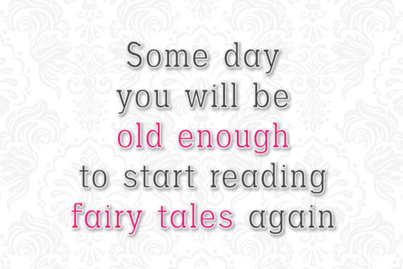 Download Free Fairy Tales Font By Numnim Creative Fabrica for Cricut Explore, Silhouette and other cutting machines.