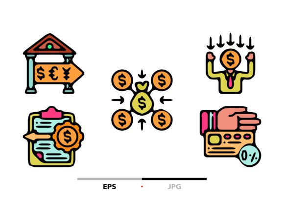 Download Free Finance Literacy Abstract Graphic By Sayangnadyapkm3 Creative for Cricut Explore, Silhouette and other cutting machines.