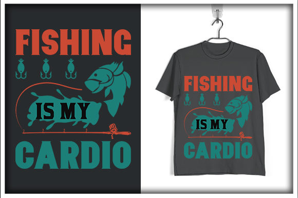Download Free Fishing T Shirt Design Fishing Is My Graphic By Svg Hut for Cricut Explore, Silhouette and other cutting machines.