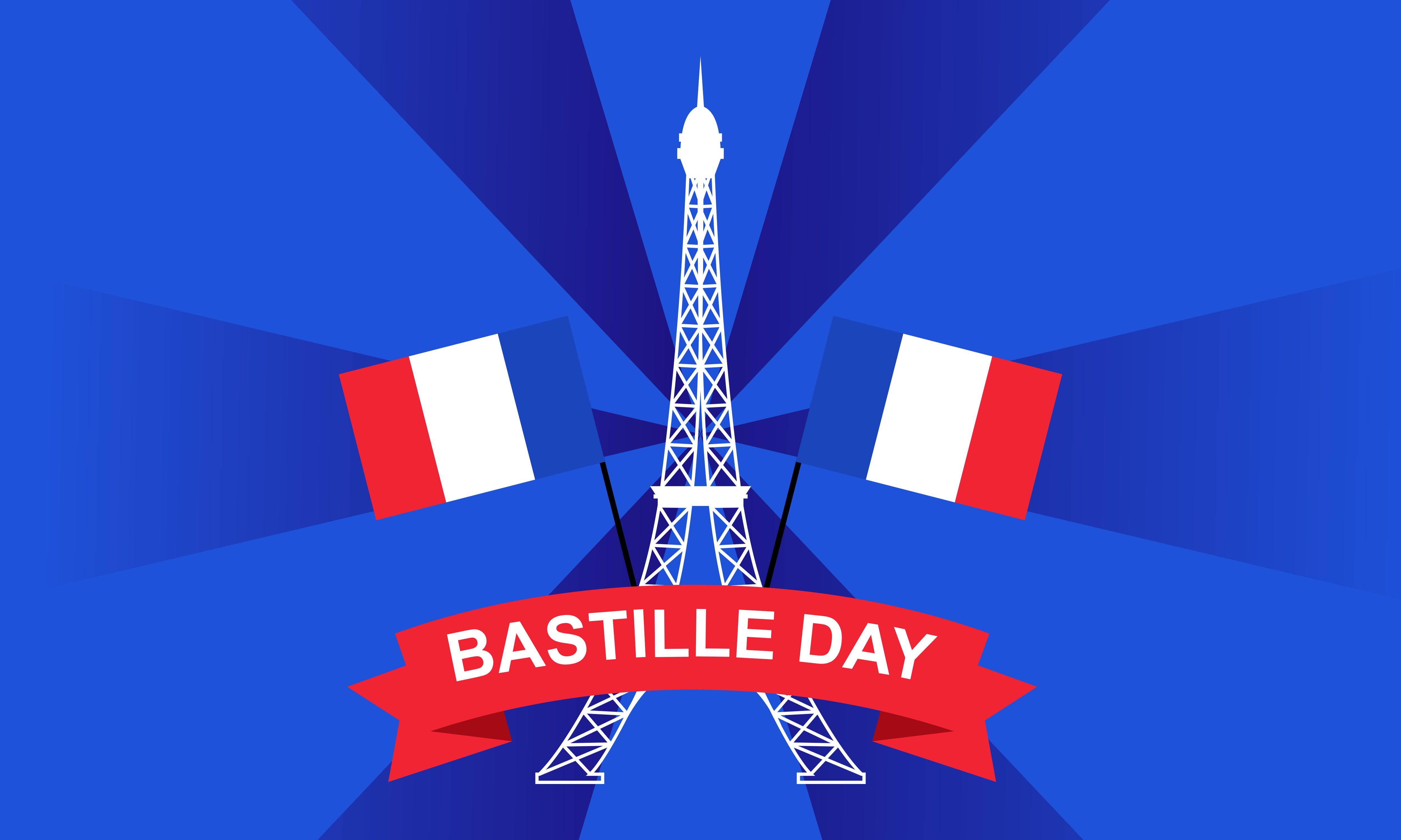 Download Free Happy Bastille Day 14th July French Graphic By Deemka Studio for Cricut Explore, Silhouette and other cutting machines.
