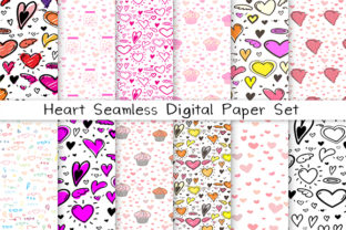 Download Free Heart Seamless Digital Paper Graphic By Oneywhystudio Creative SVG Cut Files