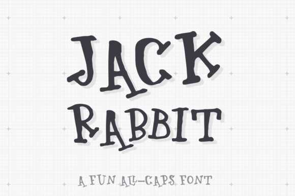 Print on Demand: Jackrabbit Display Font By Ayca Atalay