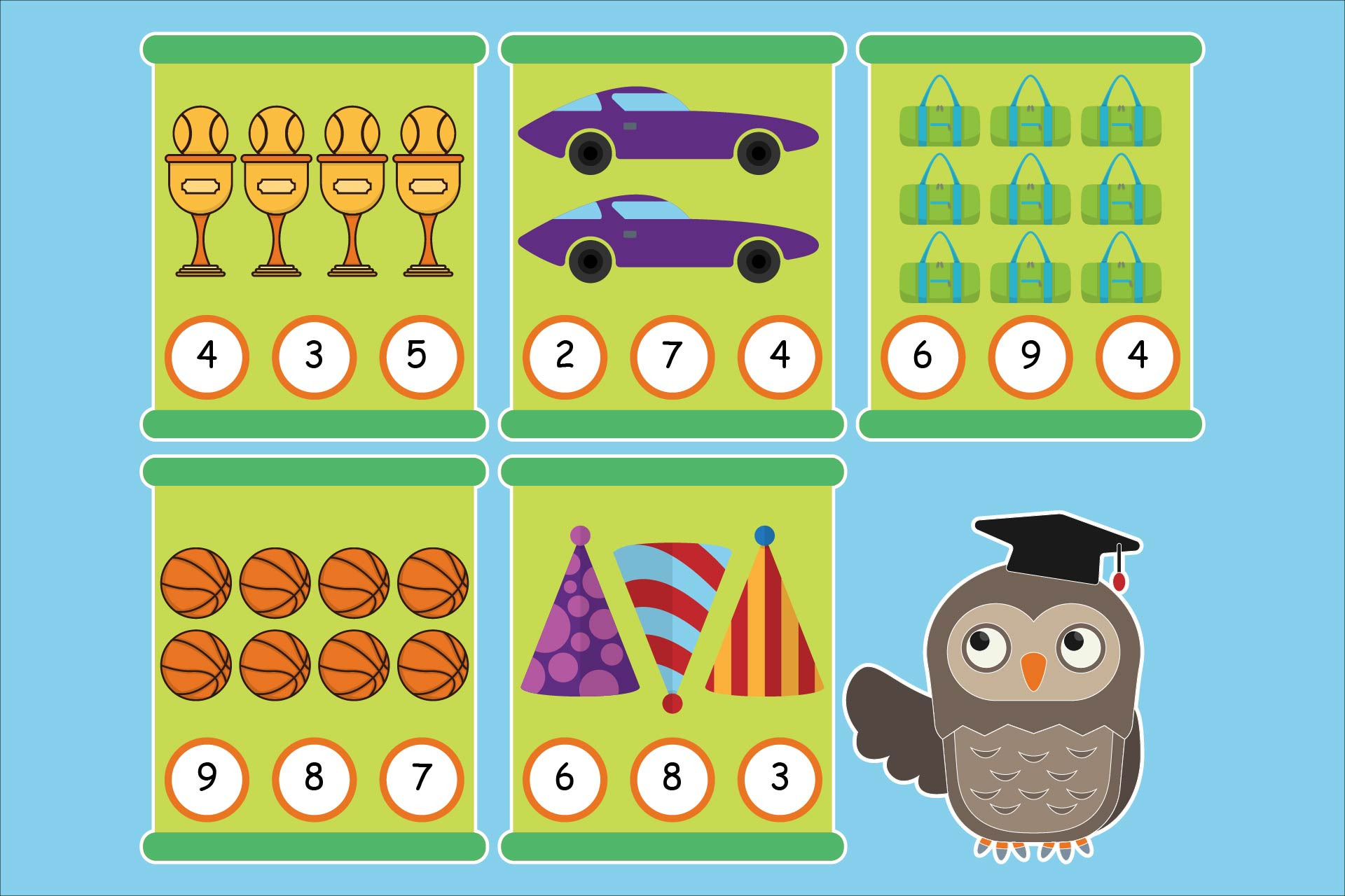 Download Free Math For Kids Pre Kindergarten Graphic By Studioisamu Creative for Cricut Explore, Silhouette and other cutting machines.