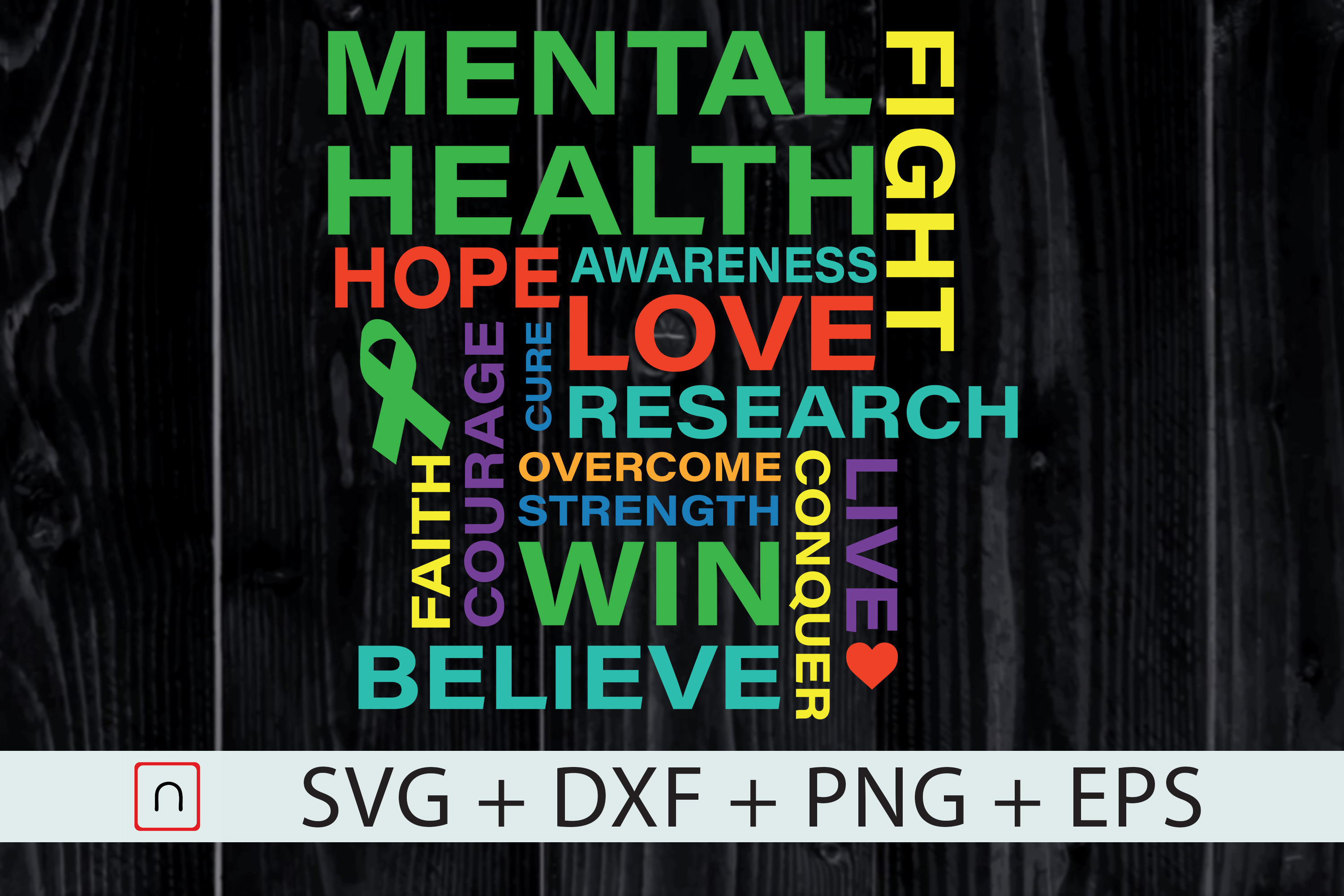 Download Free Mental Health Awareness Month Shirt Graphic By Novalia for Cricut Explore, Silhouette and other cutting machines.