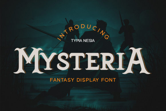 Print on Demand: Mysteria Display Font By Typia Nesia