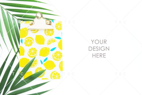 Download Free Palm Leaf Styled Stock Photo Graphic By Thesundaychic Creative for Cricut Explore, Silhouette and other cutting machines.