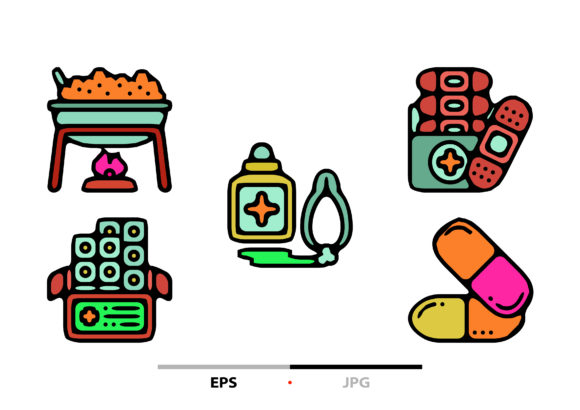 Pharmacy Abstract Graphic Icons By sayangnadyapkm3