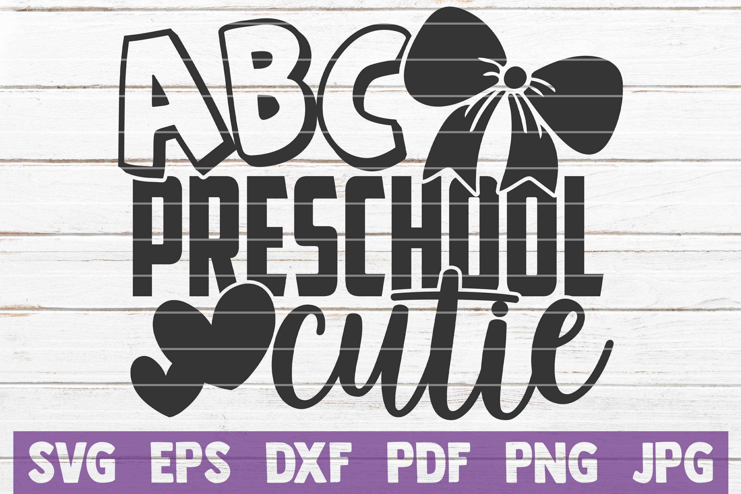 Download Free Preschool Cutie Graphic By Mintymarshmallows Creative Fabrica for Cricut Explore, Silhouette and other cutting machines.
