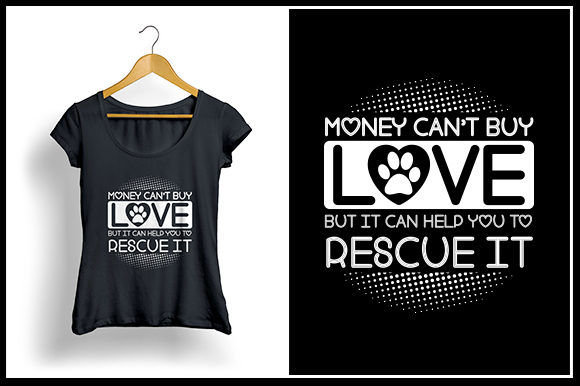 Download Free Rescue It T Shirt Design Graphic By Zaibbb Creative Fabrica for Cricut Explore, Silhouette and other cutting machines.