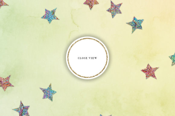 Print on Demand: Scattered Stars Pastel Backgrounds Graphic Backgrounds By Sabina Leja - Image 4