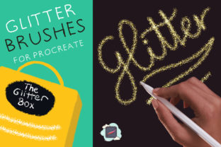 The Procreate Glitter Box Graphic Brushes By Just Bia
