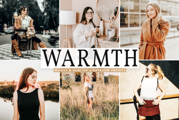 Download Free Warmth Pro Lightroom Presets Graphic By Creative Tacos for Cricut Explore, Silhouette and other cutting machines.
