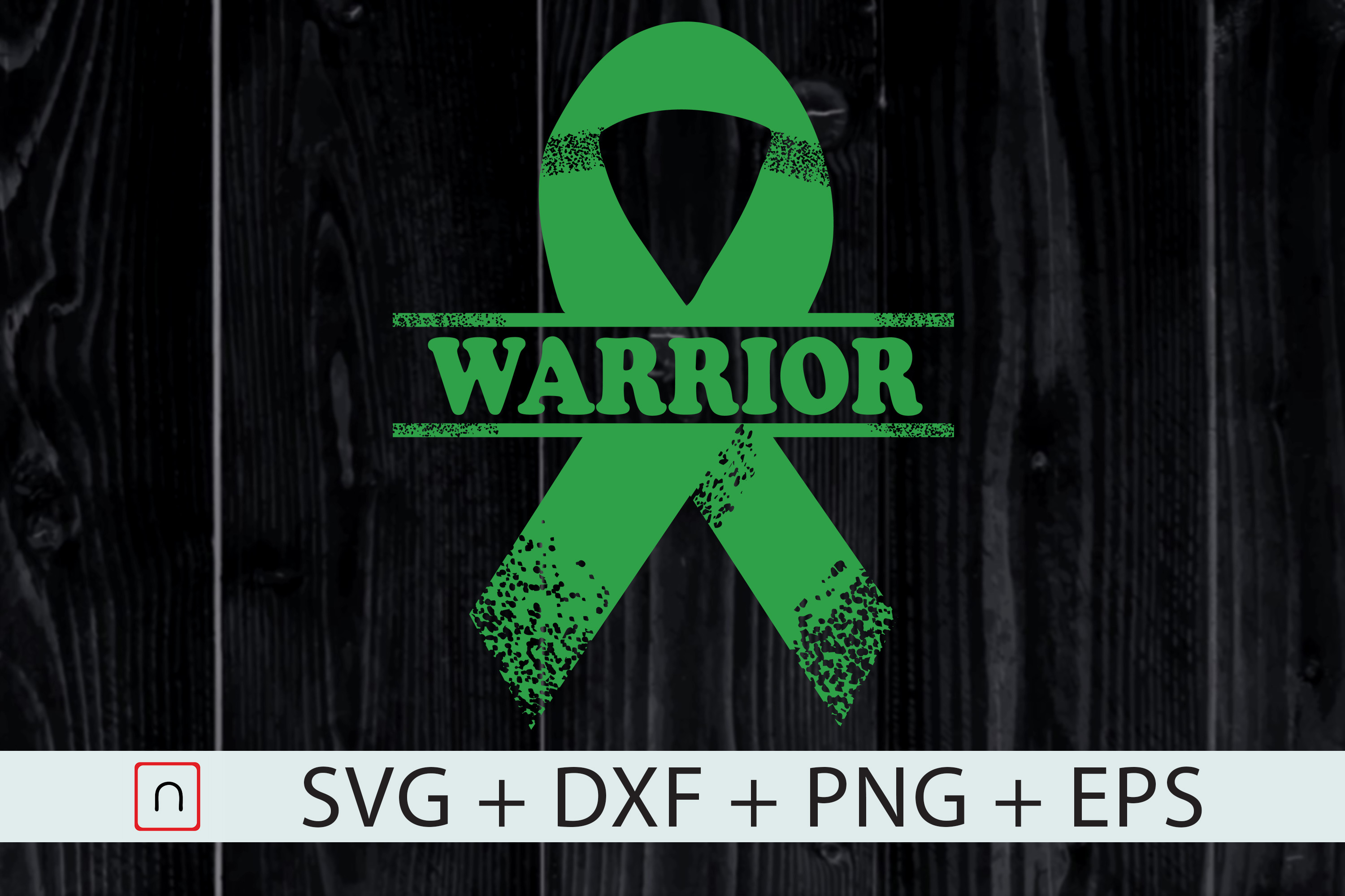 Download Free Warrior Green Traumatic Brain Injury Graphic By Novalia for Cricut Explore, Silhouette and other cutting machines.