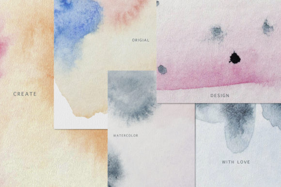 Download Free Watercolor Textures For Invitations Graphic By Vera Vero for Cricut Explore, Silhouette and other cutting machines.