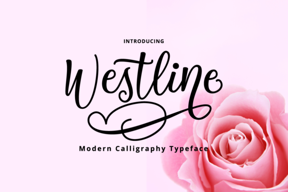 Download Free Westline Font By Tebaltipiss Creative Fabrica for Cricut Explore, Silhouette and other cutting machines.