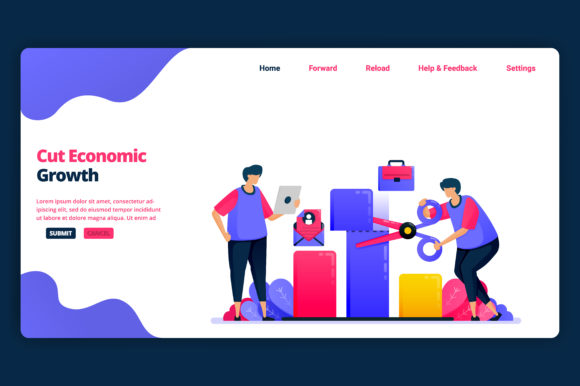 Download Free Cutting Economic Growth And Gdp Graphic By Setiawanarief111 for Cricut Explore, Silhouette and other cutting machines.