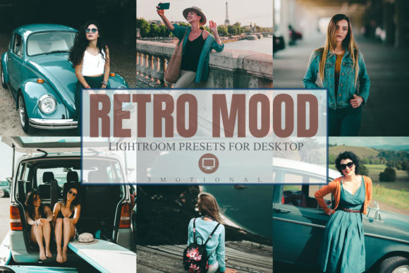 Download Free 11 Retro Mood Lightroom Presets Graphic By 3motional Creative for Cricut Explore, Silhouette and other cutting machines.