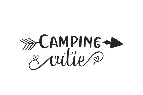 Camping Cutie Nature & Outdoors Craft Cut File By Creative Fabrica Crafts