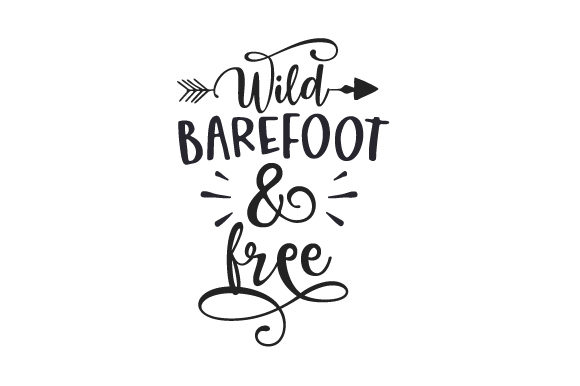 Download Free Wild Barefoot Free Svg Cut File By Creative Fabrica Crafts for Cricut Explore, Silhouette and other cutting machines.