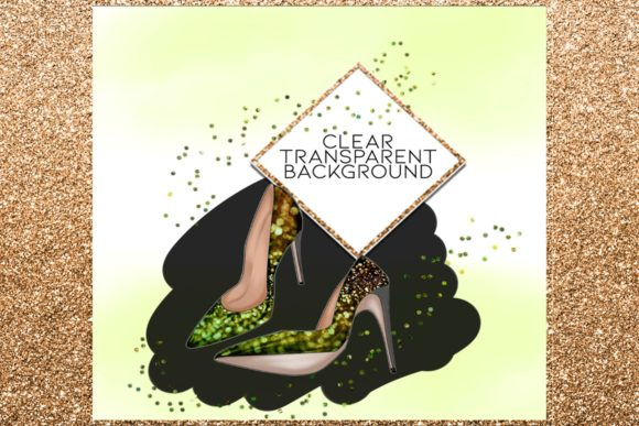 Print on Demand: 34 Shoes Stiletto Clipart Set Graphic Illustrations By TheGGShop - Image 5