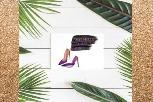 Print on Demand: 34 Shoes Stiletto Clipart Set Graphic Illustrations By TheGGShop 9