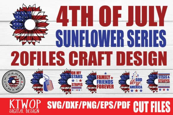 Print on Demand: 4th of July Bundle  By KtwoP